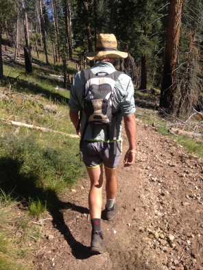 The most fashionable dude on the trail.